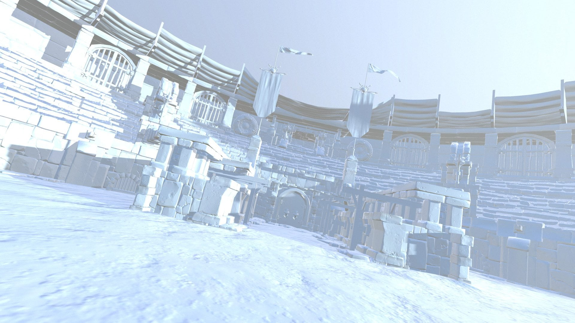 Image 03 - scene assembled in Marmoset Toolbag 2