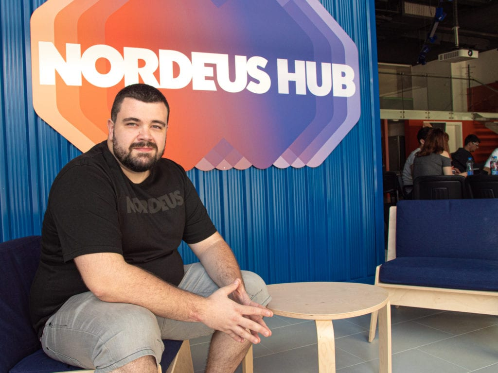 Milos Paunovic CSR Specialist talks about the launch of Nordeus Hub