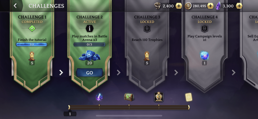 Heroic new challenges